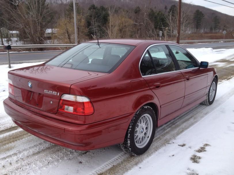 2001 Bmw 525i Siena Red