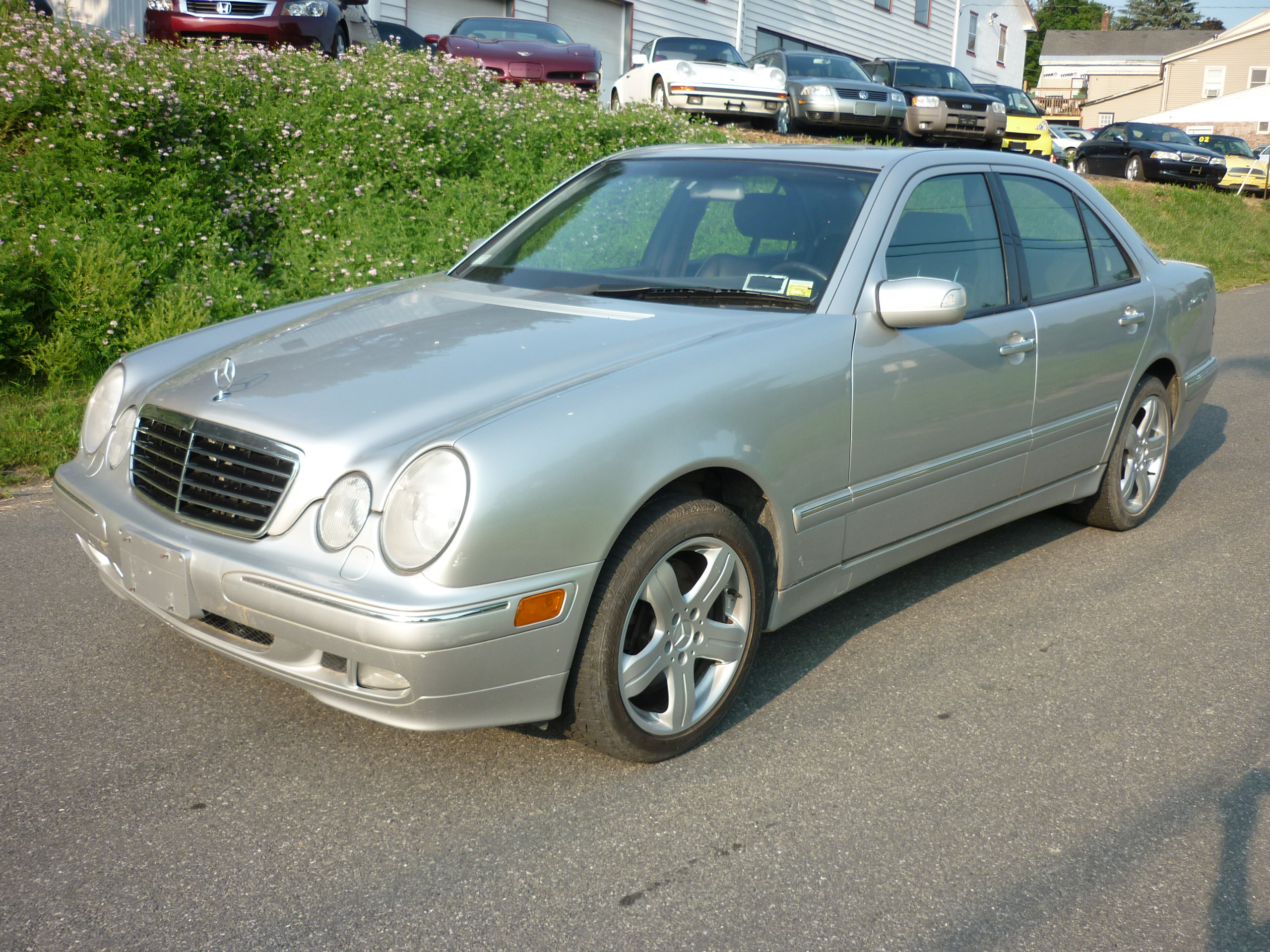 Redline engineering cars for sale 2002 mercedes benz e430 4matic silver